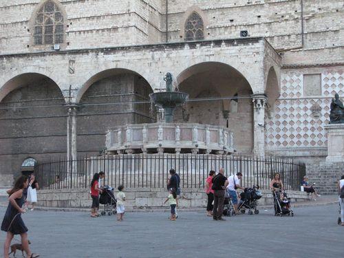 Fontana maggiore Perugia italy
