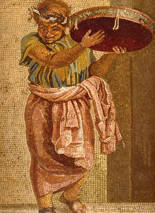 Pompeii_-_Villa_del_Cicerone_-_Street_Musicians_Detail_3_-_MAN