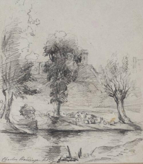 Harding Sketch